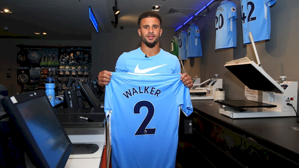 Terza Maglia Manchester City Kyle Walker